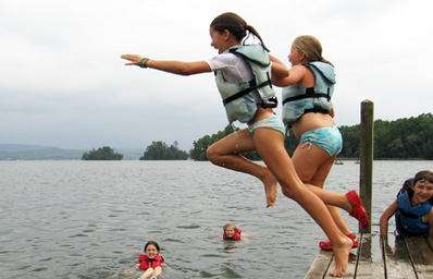 jumping off the dock_sm2